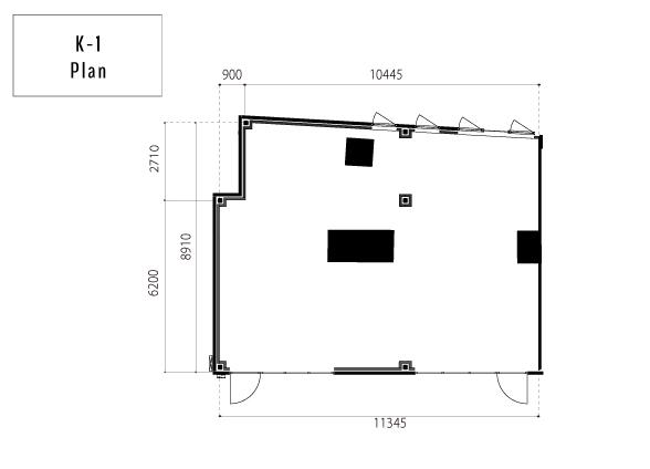 K-1(95.66㎡/28.94T)図面